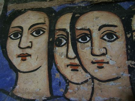 800px-Three_faces_on_a_Wall_in_Bahar_Dar