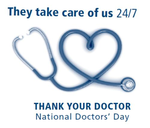 National Doctors Day 2016 Gift Ideas - Doctor's Appreciation Day 2016 Gifts & Cards